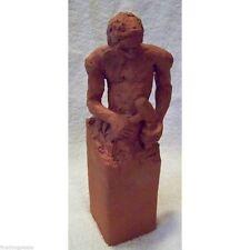 "ORIGINAL 20th CENTURY MODERN ARTIST SIGNED STUDY SCULPTURE ""Sculptor at Work"""