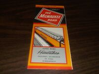 OCTOBER 1968 MILWAUKEE ROAD SYSTEM PUBLIC TIMETABLE