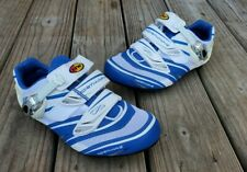 NorthWave Blue/White Cycling Shoes AirFlow System - Carbon Reinforcement Sz. 9.5