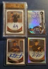 2013 Bowman Chrome and Draft Platinum Auto Graded Refractor Blue BGS You Pick