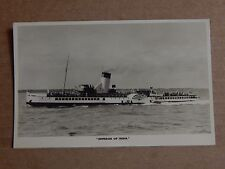 Postcard Empress Of India Paddle steamer Real Photo  unposted XC2