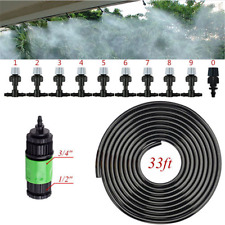 Patio Water Garden Mister Air Misting Cooling Micro Irrigation System Sprinkler