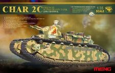 Meng 1:35 Char 2C French Super Heavy WWI Tank - Plastic Model Kit #TS009
