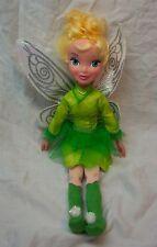 "JAKKS Disney Fairies CUTE STYLE TINKERBELL FAIRY 13"" Plush STUFFED DOLL Toy"