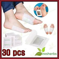 30pcs Slimming Foot Patches Detox w/ Sticky Cloth Sleep Blood Circulation Pain