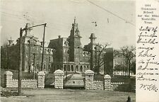 c1906 Printed Postcard; Tennessee School for the Blnd, Nashville TN Posted