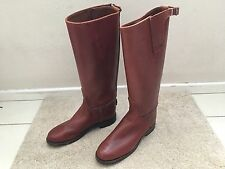 Men Under Knee High Riding Boots size 6.5C by Tack Room