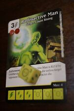 Dice Masters Civil War - #124 Radioactive Man - RARE English