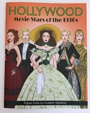 Hollywood Movie Stars Of The 1930s Paper Dolls by Spanish Artist Guillem Medina