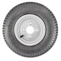 Trailer Wheel Rim & Tyre 4.00-8 4 PLY 100mm Inch PCD TRSP16