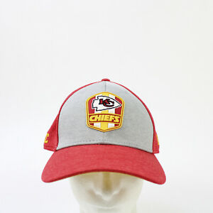 Kansas City Chiefs New Era  Fitted Hat Unisex Red/Gray New without Tags