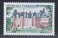 France 1968 MNH Mi 1624 Sc 1212 Chateau de Langeais ** Castle