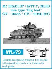 1/35 ATL79 FRIULMODEL METAL TRACKS (Late Type) for M2 BRADLEY LVTP 7 - PROMOTE