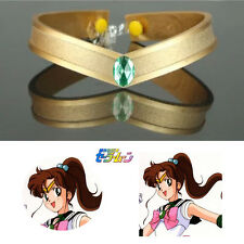 Sailor Moon Jupiter Kino Makoto Cosplay Prop Accessory Tiara Headwear Headband