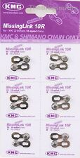 6-PACK KMC 10 SPEED MissingLink 10R Master Chain Links Connectors fits Shimano