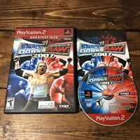 WWE SmackDown vs. Raw 2007 (Sony PlayStation 2 PS2) - Complete