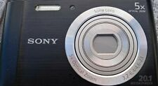Sony DSC-W800 20.1 mp digital camera. Includes 1gb SD card and USB charge cord.