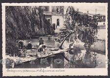 VENEZIA PORTOGRUARO 38 LAVANDAIE fiume LEMENE - Foto FERRUZZI Cartolina