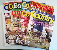 Country Accents Almanac Decorating Ideas Magazine Lot