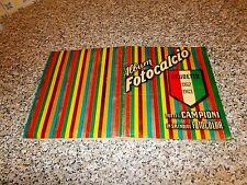 ALBUM FOTOCALCIO 1962 1963 COMPLETO(-3 FIGURINE) OTTIMO TIPO PANINI MIRA RELI