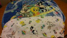Looney Tunes Blanket Baby Toddler Plush Sylvester - Tweety Bird - Bugs Bunny