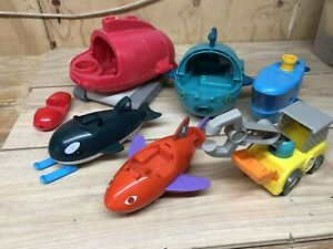 Octonauts Gup C Gup O Gup X Vehicles Bundle Mixed Used UNTESTED FOR PARTS ONLY