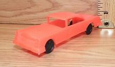 Vintage Wannatoy Plastic Salmon Color Cadillac Toy Car Only -U.S.A.- **READ**