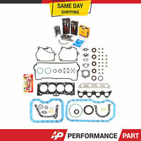 Fits 94-97 Toyota Celica 1.8L Gaskets Rings Bearings 7AFE