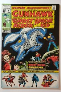 Marvel WESTERN GUNFIGHTERS #4 (1971) FN/VF 7.0 Ghost Rider, Barry Windsor-Smith!