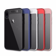 iPhone X Case Hard Clear Back Panel ShockproofProtective iPhone X 10 Cover