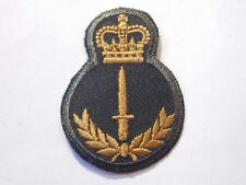 CANADA Canadian Armed Forces INFANTRY trade qualification badge 4 green