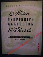 B Griff, Neue Knopfgriff Akkordeon Schule,Hohner Verlag,accordion Book B system