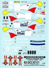 Colorado Decals 1/43 RENAULT MEGANE MAXI Tour de Corse 1996