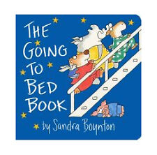 The Going to Bed Book by Sandra Boynton (1982, Board Book)