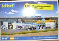 SH Kibri 38997 Tankstellen Set mit Beleuchtung Fabrikneu