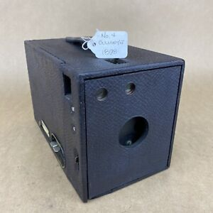 Kodak No. 4 Bullseye Model Of 1898 Antique Box Camera