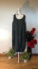 FINAL REDUCTION. SUMMMER LINEN  BOHO DRESS.  BOHEMIAN, LAGENLOOK M/L L/XL XL/2XL