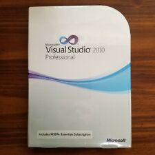 NEW Sealed Microsoft Visual Studio 2010 Professional Full Version