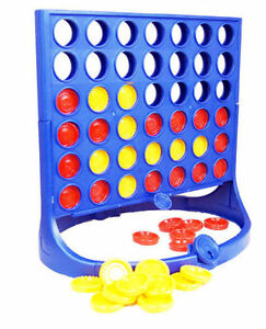 CONNECT FOUR JOIN 4 IN A ROW FAMILY FUN BOARD GAME CHILDREN KIDS PARTY NEW GAME