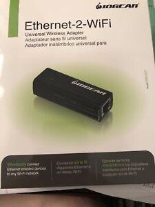 Iogear Ethernet-2WiFi Universal Wireless Adapter