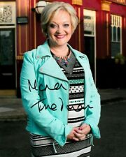 "MARIA FRIEDMAN  AUTOGRAPH SIGNED 10"" X 8"" PHOTO (EASTENDERS) COA 55"