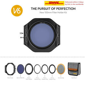 NiSi V6 Filter Holder 100mm System with NC Landscape Circular Polarising Filter