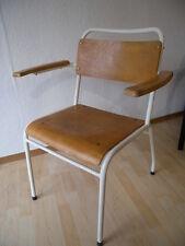 XL Arztstuhl 30er Stahlrohr Bauhaus Armlehnstuhl Stuhl gemarkt Industrial Design