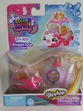 NEW Shopkins Color Change Fantasy Cutie Cars - PRINCESS CUTIE CROWN