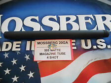 MOSSBERG 505 20ga. [4 shot] MATTE Magazine Tube Factory New Ships FREE!