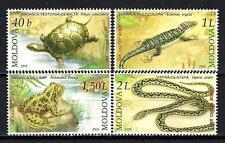 Moldavie 2005 reptiles Yvert n° 453 à 456 neuf ** 1er choix