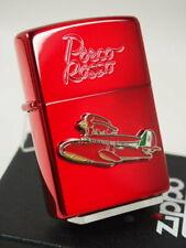 Zippo Lighter Porco Rosso NZ-24 Metal Red Studio Ghibli Hayao Miyazaki Japan F/S