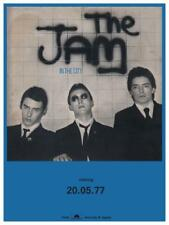 The JAM * POSTER *  In The City - Paul Weller PROMO AD - AMAZING PIC