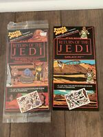 STAR WARS RETURN OF THE JEDI PRESTO MAGIX JABBA SARLAAC X2 SET VINTAGE 1983 NEW