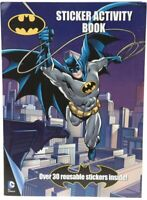 Official DC Comics Batman Reusable Sticker Activity Book Colouring Pack 301039